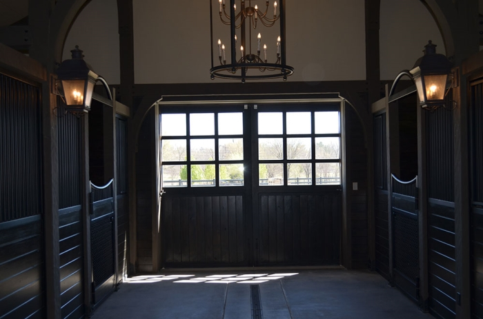 Barn End No. 2D - with 9 Pane Divided Light